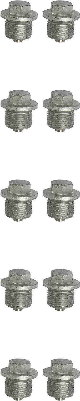 Lablassschraube, Auen6kant 15mm, M20x1,5x14mm, 10er-Pack