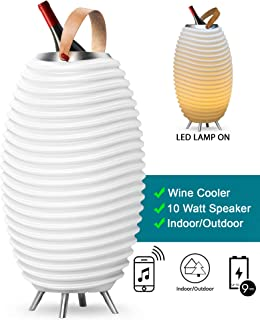 Kooduu Synergy Wireless Indoor or Outdoor Bluetooth Speaker, LED Glow Light and Ice Bucket in One, Pro 35