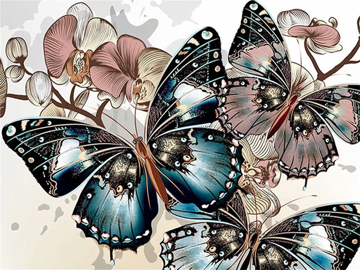 SALENEW very 67% OFF of fixed price popular 5D Diamond Painting Butterfly Kits Mosaic Em