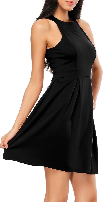 Bealatt Women's 3 4 Sleeves V Neck Maternity Faux Wrap Dress with Adjustable Belt