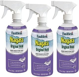 Niagara Non-Aerosol Spray Starch Original Lavender Scent, 22 Fl Oz (3 Pack)