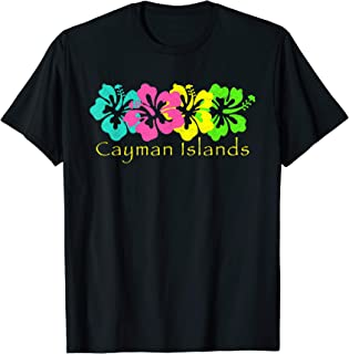 Cayman Islands Tropical Beach T-Shirt/Cayman Island Surf Tee