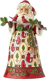 Enesco Jim Shore Heartwood Creek Santa with Cardinals