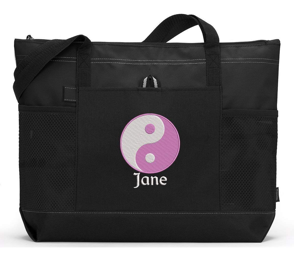 Yin Yang Popular overseas Personalized Bag Embroidered Tote Max 86% OFF