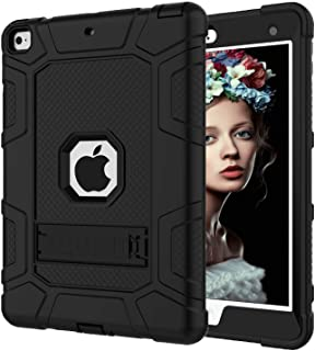 Gorilla Gadgets iPad 6th Generation Cases, iPad 2018 Case, iPad 9.7 Inch Case, Hybrid Shockproof Rugged Drop Protection Cover Built with Kickstand for New iPad 9.7 inch A1893 / A1954 / A1822