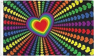 Rainbow Love Flag 3x5ft Poly