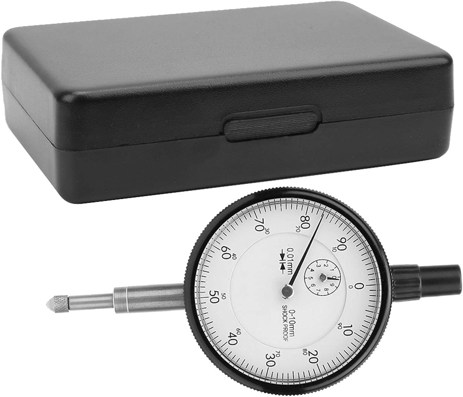 Durlclth Dial Indicator-0.01MM Accuracy Now on sale Shockproof Max 71% OFF 0-10MM Range