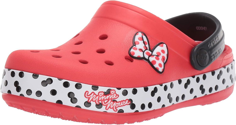 Crocs Womens Boys and Girls Minnie Dots Clog Clog