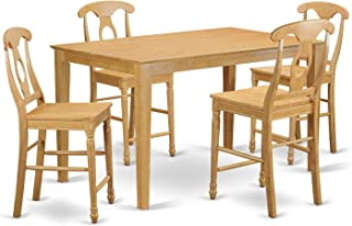 Best oak pub table and chairs Reviews
