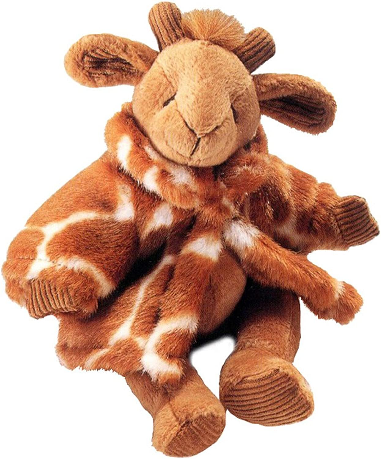 Russ Plush Gisella GIRAFFE Approx. 15.5 tall w Faux Fur Coat - HeartCraft Collection by Russ Berrie and Co.
