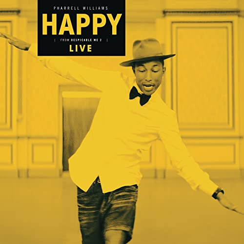 7d5c5a6dff7ac Happy (Live) by Pharrell Williams on Amazon Music - Amazon.com