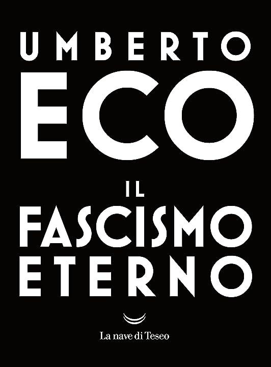 Libri di umberto eco - il fascismo eterno (italiano) copertina flessibile 978-8893442411