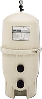 Pentair 180008 FNS Plus Fiberglass Reinforced Polypropylene Material, Vertical Grid, D.E. Pool Filter, 48 Square Feet, 96 GPM