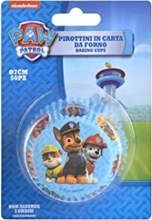 PAW PATROL Baking Cups Muffin Cupcake Cases Capsules x50. Licenced Product.