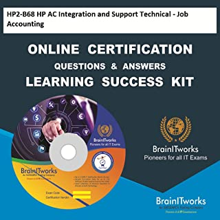 HP2-B68 HP AC Integration and Support Technical - Job Accounting Online Certification Video Learning Made Easy
