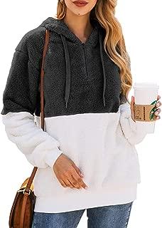 long sherpa hoodie