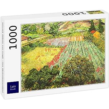 Lais Puzzle Vincent Willem Van Gogh - Campo de Trigo con cipreses ...