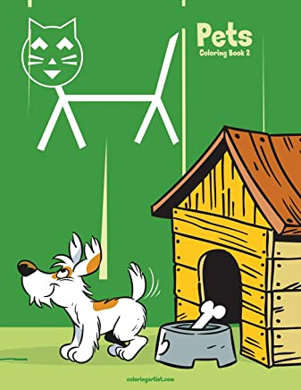 Pets Coloring Book 2