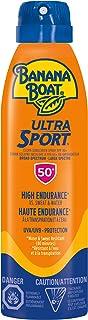 Banana Boat Ultra Sport Sunscreen Spray, NEW FORMULA, Spf 50+, 170g