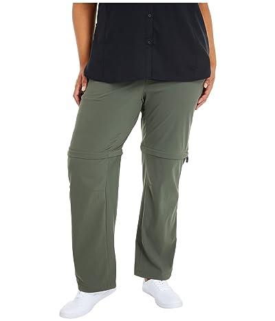 Columbia Plus Size Saturday Trailtm II Convertible Pant (Gravel) Women