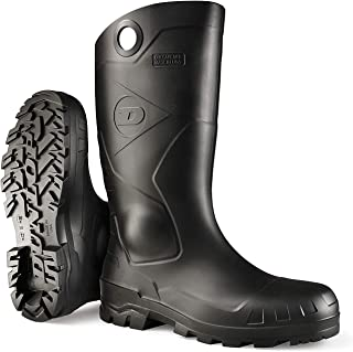 Dunlop 8677610 Chesapeake Boots with Safety Steel Toe,...