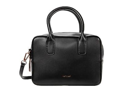 Matt & Nat Arlie Loom (Black/Rose Gold) Satchel Handbags