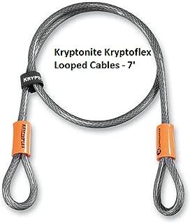Kryptonite Kryptoflex Looped Cables - 7'/-