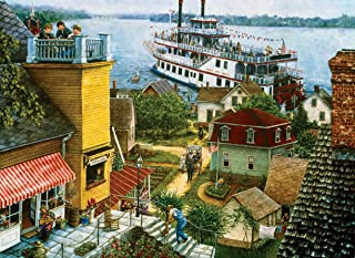 SUNSOUT INC Paddle Boat Landing 500 pc Jigsaw Puzzle