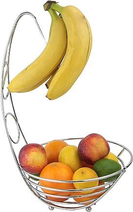 Preisvergleich für Apollo Bananenbaum/Obstschale, Chrom