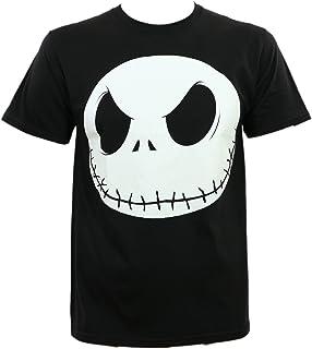 Disney Nightmare Before Christmas Men's Fat Head T-Shirt