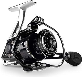 KastKing Megatron Spinning Reel, Great Saltwater Spinning Fishing Reel, Rigid Aluminum Frame 7+1 Double-Shielded Stainles...