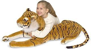 Melissa & Doug- Tiger Giant Leones y Otros felinos Grandes Juguete de Pluche, Multicolor (Melissa&Doug 12103) , color/modelo surtido