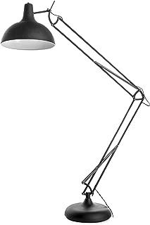 Benjara Benzara BM191497 Metal Floor Lamp with Full Adjustable Function, Black