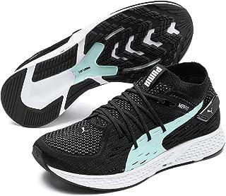PUMA Women's Speed 500 WN's Sneaker, Black White