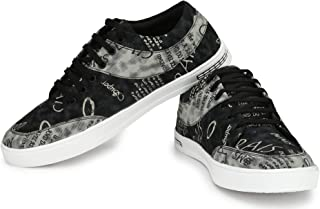 Flooristo White Casual Sneakers Shoes for Men