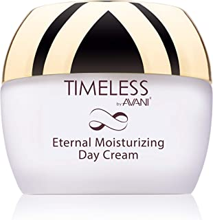 Timeless by AVANI Eternal Moisturizing Day Cream | Enriched with Collagen, Caviar, Vitamin E | Smooths Wrinkles Leaving Skin Soft & Refreshed - 1.7 fl. oz.