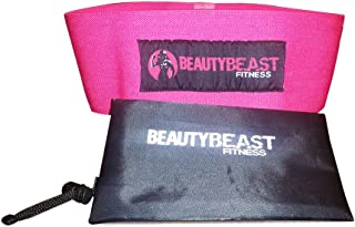 BEAUTY BEAST FITNESS - Hip Resistance Band Circle for Women | Mold & Shape GLUTES | Activate Hips and Stretch | Ultimate Butt Shaping Bands | Awesome for Crossfit, Yoga, Bodybuilding & Stretching