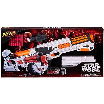 Star Wars Nerf Episode VII First Order Stormtrooper Deluxe Blaster ナーフスターウォーズエピソードファーストオーダーストームトルーパーブラスターデラックスブラスター [並行輸入品]