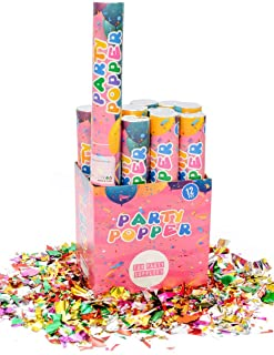 powder and confetti cannon
