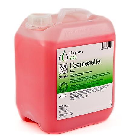 Hygiene VOS Jabón Líquido de Manos pH Neutro de Uso Diario. Fórmula Extra Suave y Biodegradable. Envase Económico de 5L, Adecuado para Todo Tipo de Dispensadores