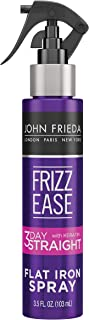 John Frieda Frizz Ease 3-day Flat Iron Spray, 3.5 Ounce Heat-activated Straightening Spray, to Block Out Frizz, with Kerat...