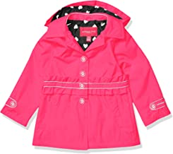 London Fog Girls' Lightweight Jersey Lined Windbreaker Jacket
