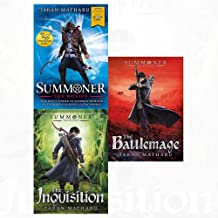Taran matharu summoner novice, inquisition, battlemage 3 books collection set