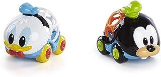 (donaldandgoofy) - Disney Baby Go Grippers Collection Push Cars- Donald & Goofy