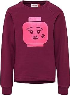Lego Wear Lwtulla-Long Sweatshirt mit Kapuze Maglia di Tuta Bambina