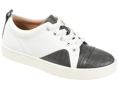 Journee Collection Comfort Foamtm Kyndra Sneakers (Grey) Women