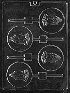 Grandmama's Goodies R056 Praying Hands Prayer Lollipop Chocolate Soap Mold with Exclusive Molding Instructions