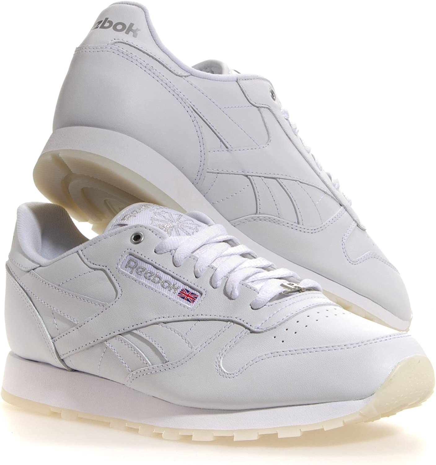 Reebok Classic Leather ICE V52174 White Silver ICE Men shoes