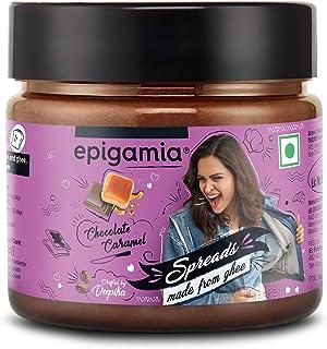 Epigamia Ghee Spreads, 125 g (Chocolate Caramel)