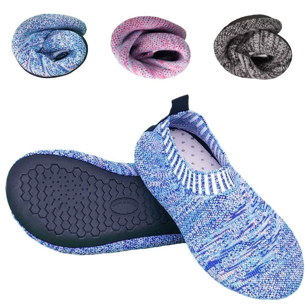 Kids Toddler Slipper Socks with Rubber